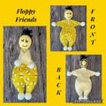 Floppy Friends, soft toy, crochet, kids and baby's toy, hand made