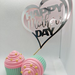Cake Toppers, Mothers day, Cake decoration