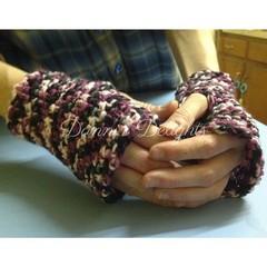 Lava Wrist warmers (acrylic)