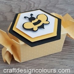 6 x Bumble Bee Candy Boxes