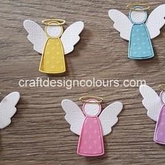 5 x Angel Die Cuts (kits)