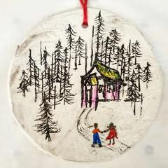 Wall Art  -  Beware Hansel and Gretel