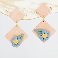 Blush Diamonds with Flowers