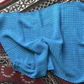 Baby Blanket Hand Crochet Turquoise