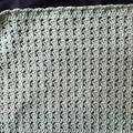 Baby Blanket Hand Crochet Pastel Green