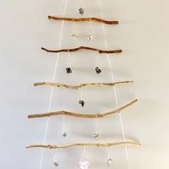 Hanging Crystal Christmas Tree