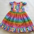I Heart Rainbows dress