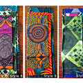 African Fabric Beeswax Food Wrap - 3 Gift Pack