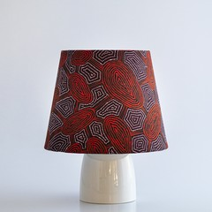 Indigenous Print Lamp Shade – 19cm