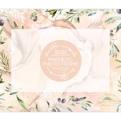Magnetic Photo Frame - TUSCAN OLIVES