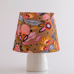 Earthy, Native Floral Lamp Shade – 19cm
