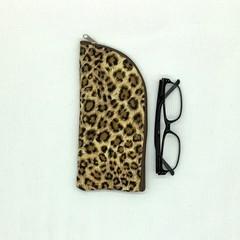 Leopard Spot Skin Glasses Case