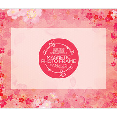 Magnetic Photo Frame - CHERRY BLOSSOMS