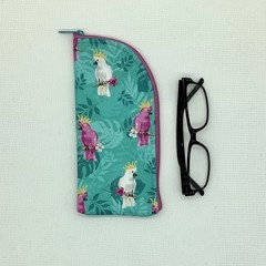 Cockatoos  Zipper Pouch/Glasses Case
