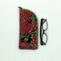 Australian Waratah Glasses Case