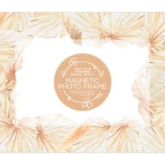 Magnetic Photo Frame - BOHO
