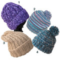 Mother's Day sale: Adult beanies,  textured wool