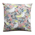 Australian Flora & Fauna / Sulphur Crested Cockatoos - Cushion Cover