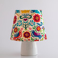 Colourful Blue Birds Lamp Shade – 19cm