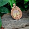 Copper Pendant Sitting Buddha
