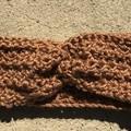 Crochet Ear Warmer, Twist Headband