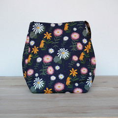 The Wren Shoulder Bag - Christie Williams fabric