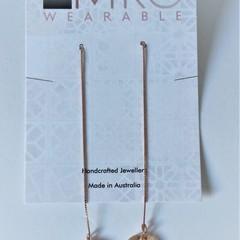 Sterling Silver Thread with Swarovski crystals