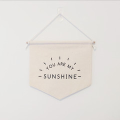 You Are My Sunshine wall banner
