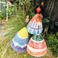 🌈Garden bell/ wind chime SET of 3