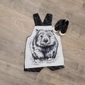 'Black and White Wombat'