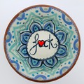 Unique pattern handpainted naughty snack bowl