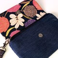 Gorgeous Australian Clutch Purse with Carry Strap