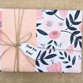 Gift - 2 soaps + 2 soy candles + 2 free wrapped teas - Birthday/Pamper Gift
