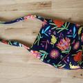 The Rose Mini Tote - Handmade - Australian designer fabric.