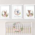 Sweet Dreams Rabbit Koala Deer Nursery DIY Printables