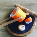 Large sushi felt food Pretend play food set