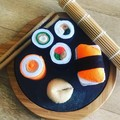 Large sushi felt food Pretend play food set