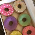 Donut Felt Food play food doughnuts  half dozen