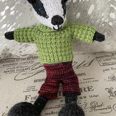 Natasha's Knitted Badger