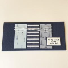 Male Birthday Card, Money Card