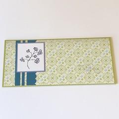 Happy Birthday, Wonderful Mother Card, Money Card
