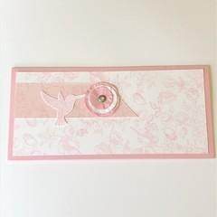 Female Birthday Card, Money Card