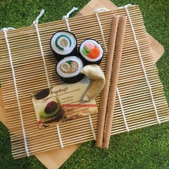 Felt food pretend play  small sushi set