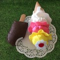 pretend play felt Ice cream set
