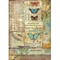 Rice Paper - Decoupage - 1 x A4 Size Sheet - Amazon Butterflies