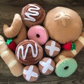 pretend play felt sweet bakery breads set