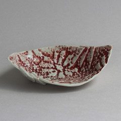 Pink Lace Origami Bowl