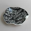 Black & White Bird Dish