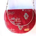 Tapestry crossbody or shoulder bag