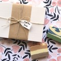 Gift (Birthday/for her/Pamper)  - 4 Bar Soaps l Vegan l Artisan Soaps